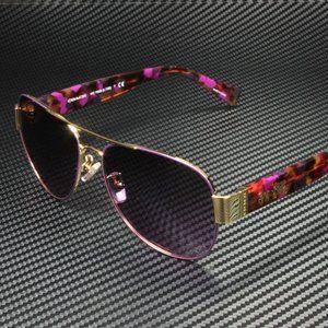 COACH Purple Grey 58mm Sunglasses